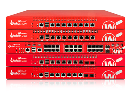 Rack-Mount Firebox Appliances