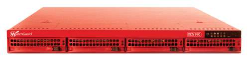WatchGuard XCS 970 Series